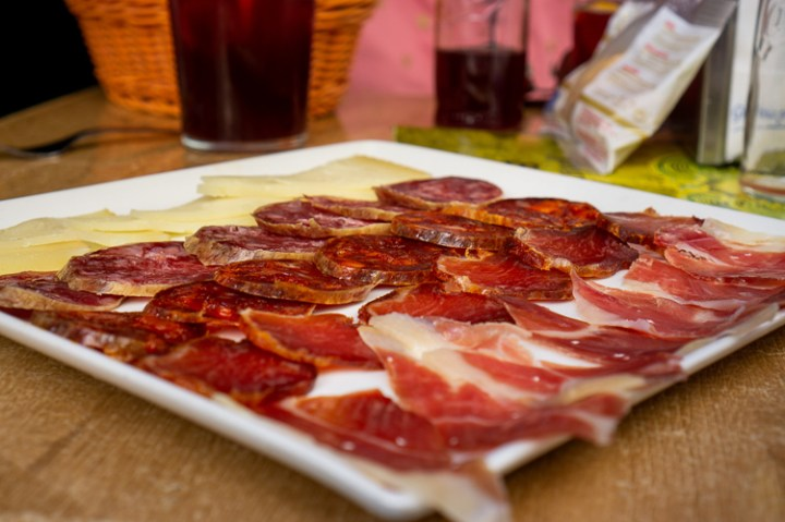 Iberico ham uit Sevilla
