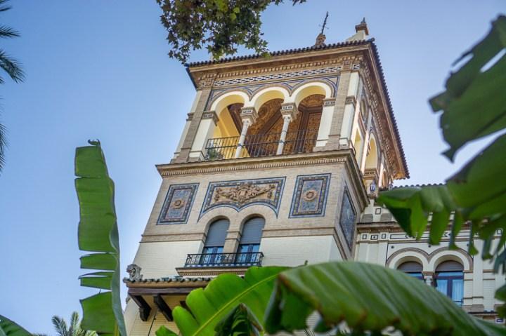 Straatbeeld van Sevilla