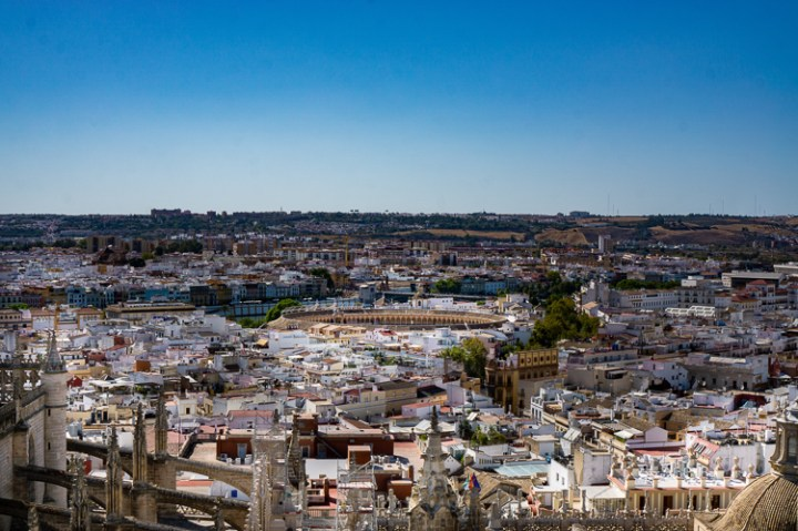 Uitzicht over Sevilla