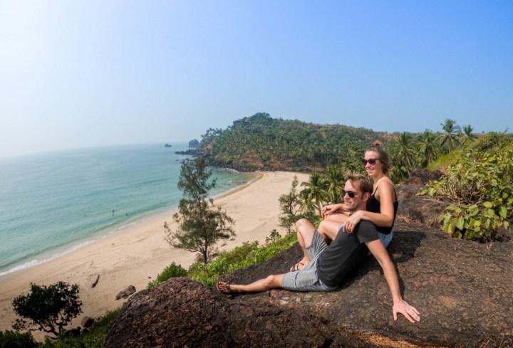 Karolien en Wiet: 'We waren net vertrokken naar Zuidoost-Azië, wat het begin van een jaar rondreizen had moeten zijn.'