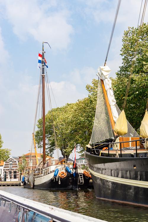 Boottocht door Leiden