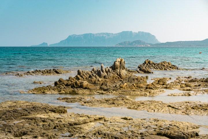 Pittulongu strand bij Olbia op Sardinië