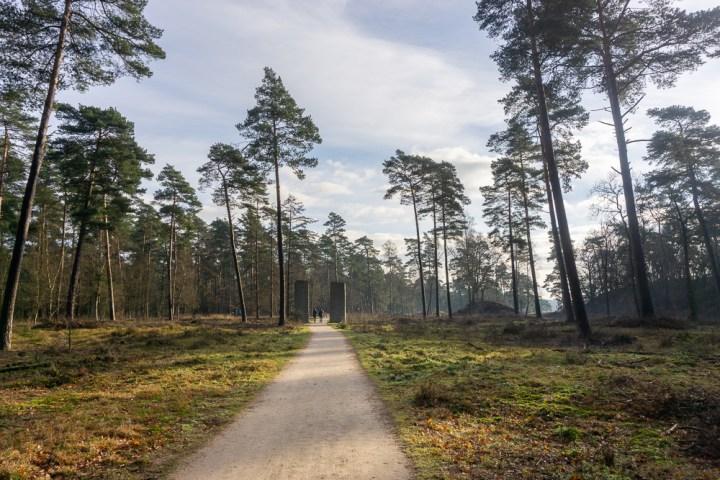 Het landschappenpad op de Hoge Veluwe.