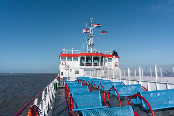 Veerboot naar Schiermonnikoog