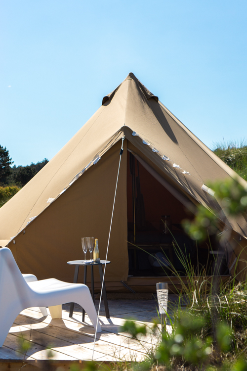 Tent glamping Ameland