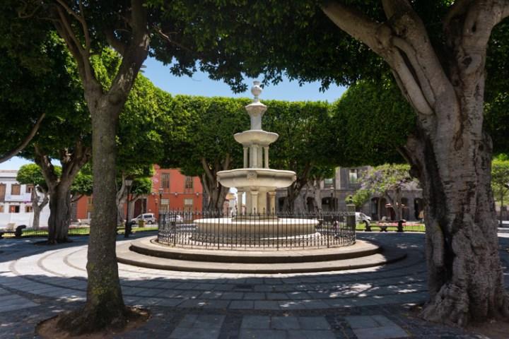 Plaza Adelantado La Laguna Tenerife