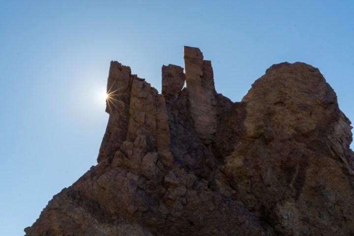 Rotsformaties op de Teide
