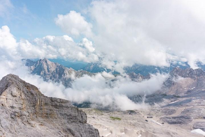 Zugspitze in Duitsland