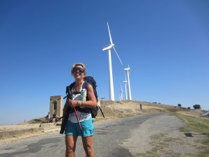 Windmill power on the Camino.