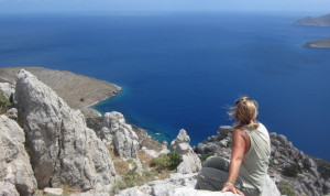 Overlooking Aegean