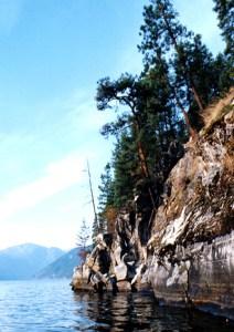 Indian Rocks, Christina Lake.