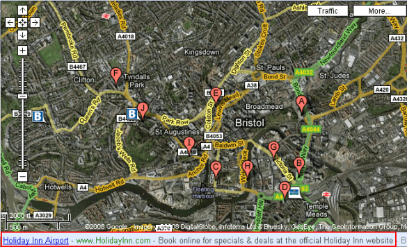 Text Ads On Google Maps  Google s  600m Plan   Just Google It  Bristol Hotels  search