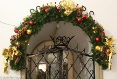 Vienna door decoration