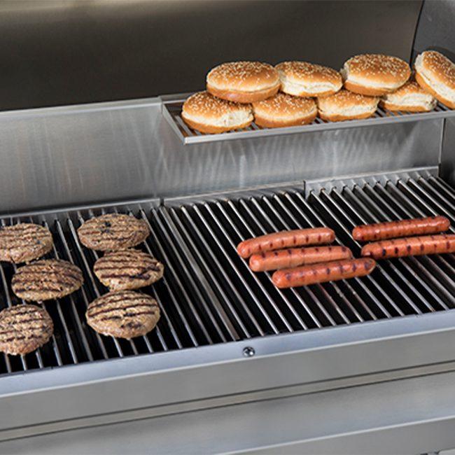 tec grills rack jack with warming rack