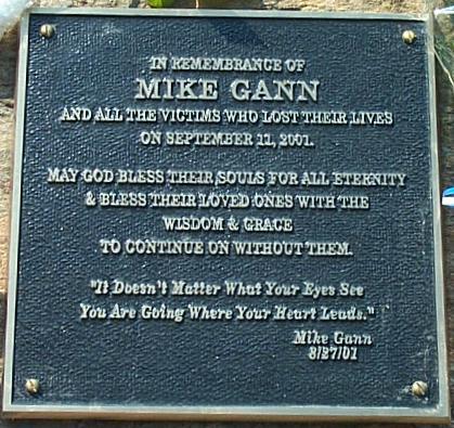 The Mike Gann Memorial in Roswell Park