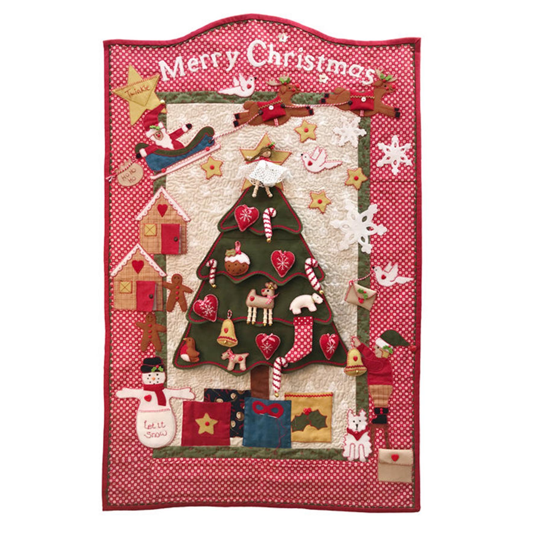 Christmas Tree Advent Calendar Pattern Designed By Mandy