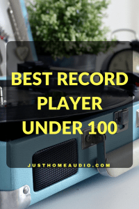 Blog Title Image for the Post called Best Record Player Under 100
