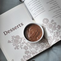 Easy Eggless Chocolate Pudding