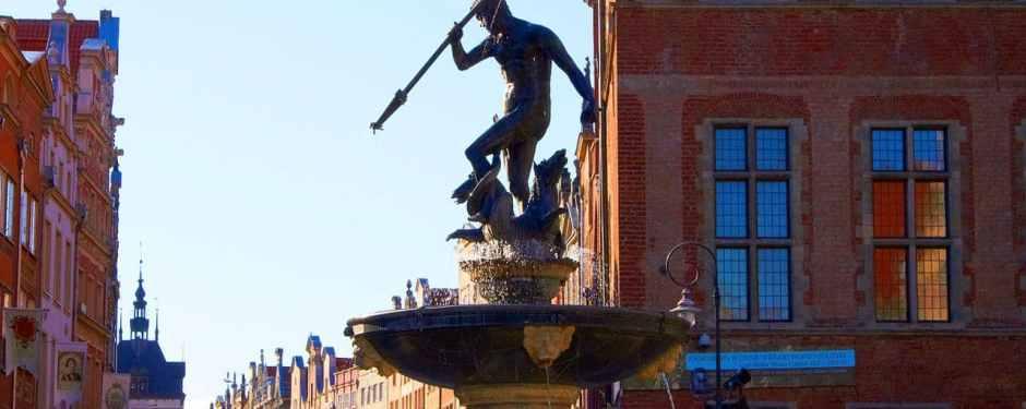 Atrakcje Gdańska – Fontanna Neptuna