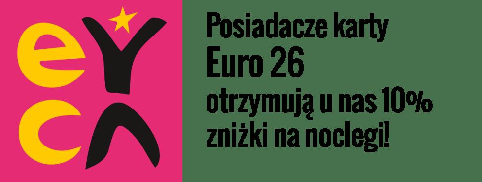 Z kartą EURO26 10% zniżki