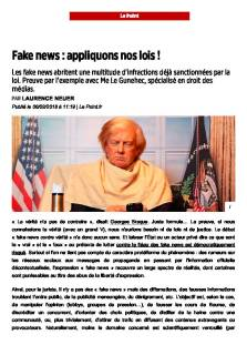 Diffamation et Fake news_ appliquons nos lois! - Le Point du 6 favrier 2018 _Page_1