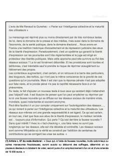 Diffamation et Fake news_ appliquons nos lois! - Le Point du 6 favrier 2018 _Page_5