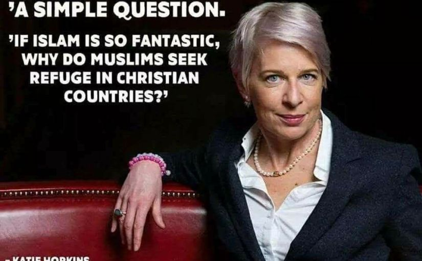 "Katie Hopkins —– British woman's warning!  A ""Must Watch!"""
