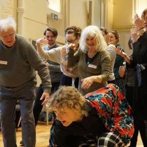 Moving Together workshop exploring loneliness group image