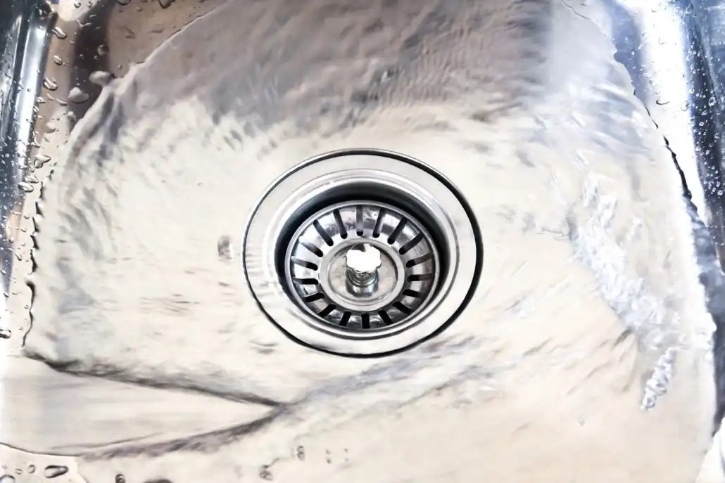 residue in drains