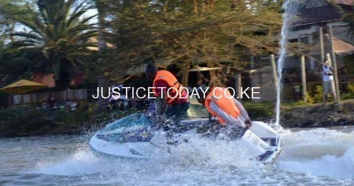 CRAVING FOR A RIDE ON WATER AT SPEED OF OVER 150KM/HR? VISIT BEACH IN RUIRU