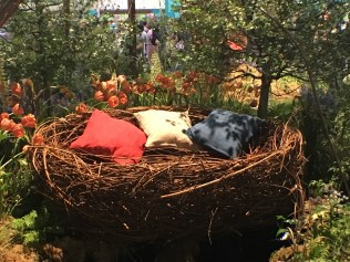 This little sleeping basket was quite beautiful. It was in a standalone river that and it looked quite relaxing, but it was only on display, of course.