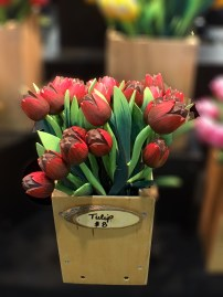 Handmade Tulips. These were just beautiful. I tell you, people are mad talented.