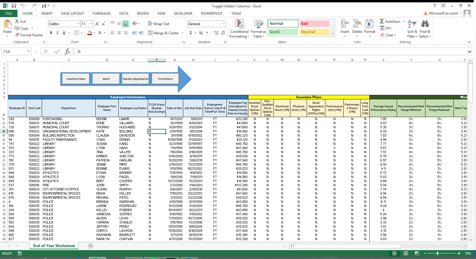 Simplify Huge Spreadsheets Justin Hampton Ccp