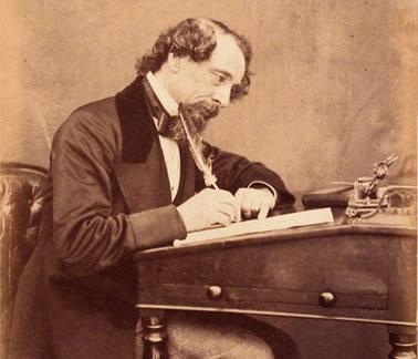 Charles Dickens by Watkins, 1858