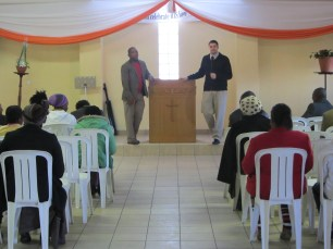 """Justin spoke on the importance of work and education - In many of the churches there is a focus on spiritual things while neglecting the importance of the """"practical"""" things God gifts and calls us to"""
