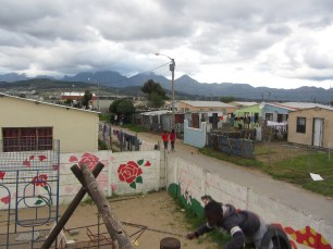 A view of Asanda from the church playground