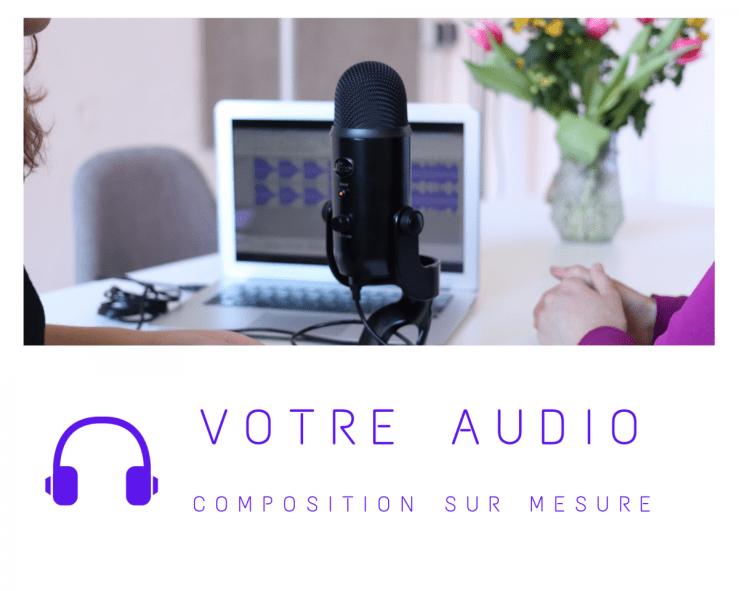 Enregistrement sur mesure de votre audio de sophrologie