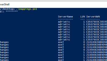 PowerShell Scripting Options for Dell Storage – Justin Braun
