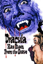 poster for dracula has risen from the grave