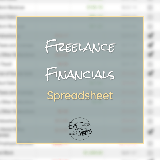 Freelance Accounting Template