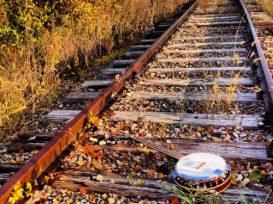 Banjo, Railroad Tracks 8 X 10