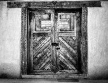 Mission Door, New Mexico 8 X 10