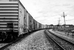 Train. Central Missouri 8 X 12