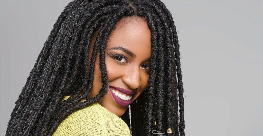 Crochet Faux Locs Bobbi Boss Bomba Dreadlocks Soul JustineRenee Mesmerizing Braid Pattern For Crochet Faux Locs