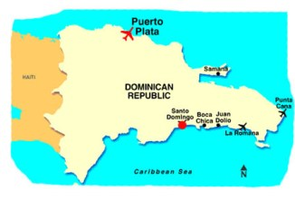 Dominican Republic Map - Travel Tips