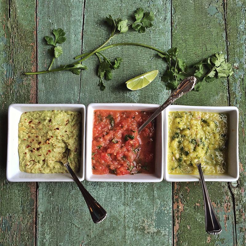 3 Fresh & Festive Taco Toppings // justinecelina