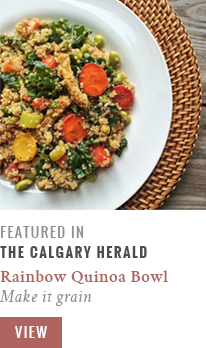 Feature // Make it Grain | Calgary Herald Gastropost // JustineCelina.com