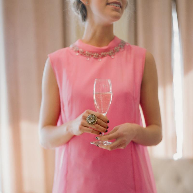 A Vintage Cocktail Party // Justine Celina