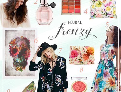 Pattern Obsession | Floral Frenzy // JustineCelina.com