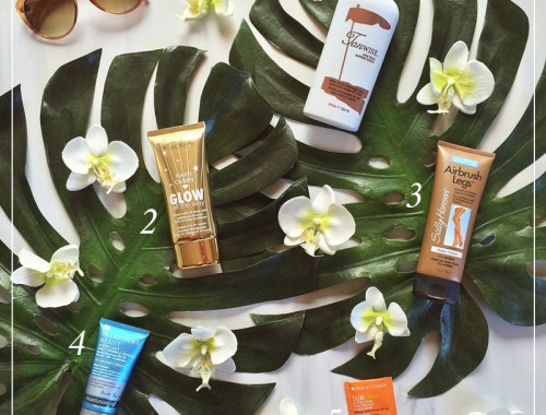 How to Get a Safe Summer Glow   Favourite Sunless Tanning Products // JustineCelina.com